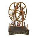 PICCOLA RUOTA PANORAMICA, carillon in legno per bambini