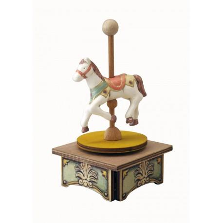carillon da collezione legno Cavallo