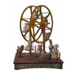 carillon da collezione in legno GRAN GIOSTRA ruota panoramica