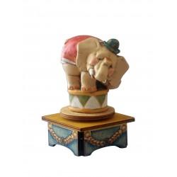 carillon da collezione legno ELEFANTE