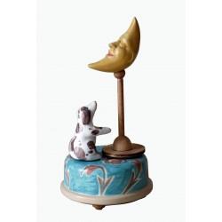 carillon da collezione CANE E LUNA