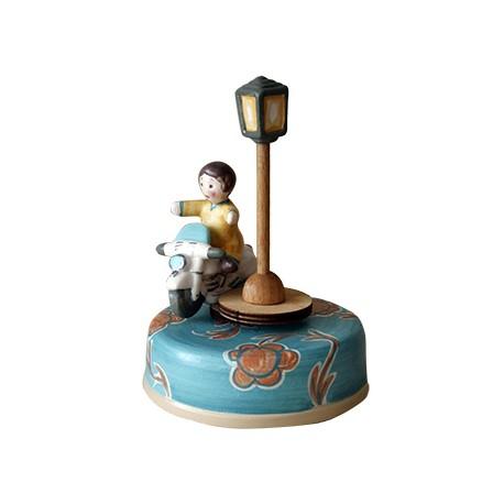 carillon da collezione BIMBO E MOTO