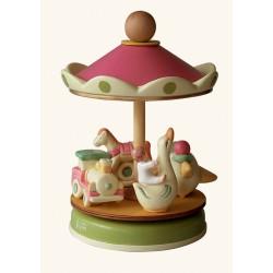 carillon giostra per bambini, regalo per battesimo e nascita. giostra classica