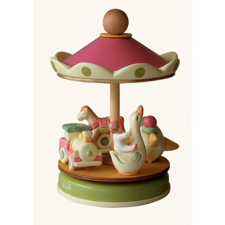 carillon giostra per bambini, regalo per battesimo e nascita. giostra classica. Artigianale made in Italy