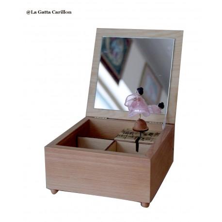 carillon ballerina portagioie personalizzato