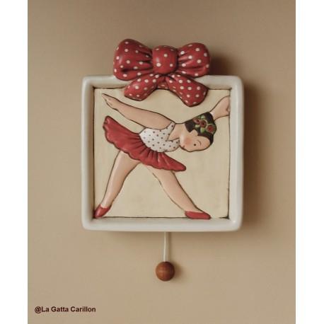 carillon ballerina per bambina e bimba, per neonati regalo battesimo nascita