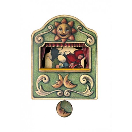 carillon da muro per bambini o neonati. favola CAPPUCCETTO ROSSO. Regalo nascita o battesimo.