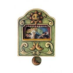 carillon da muro per bambini o neonati. favola BIANCANEVE. Regalo nascita o battesimo.