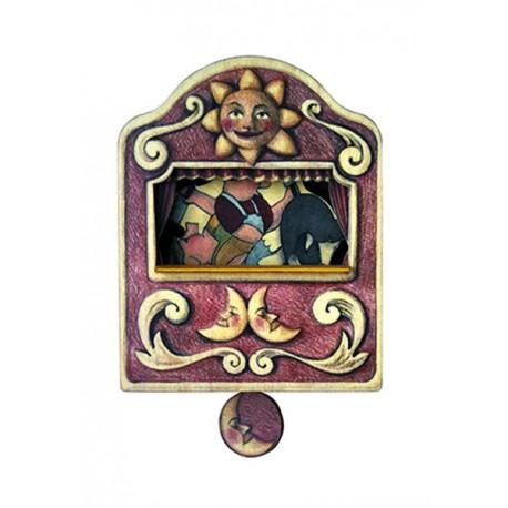 carillon da muro per bambini o neonati. favola I 3 PORCELLINI. Regalo nascita o battesimo.