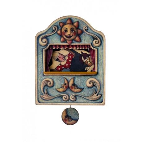 carillon da muro per bambini o neonati. favola PINOCCHIO. Regalo nascita o battesimo.