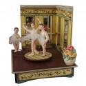 A LEZIONE, carillon ballerina (carillon legno grande)