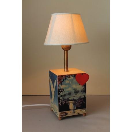 CARILLON LAMPADA SURREALISTI - CUORE, carillon lampada