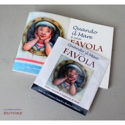"""Libretto illustrato per bambini, """"Quando il mare è una favola"""", autori vari. Libro, libriccino di favole e filastrocche"""
