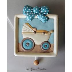 carillon per neonati, per bimbo e bambino, regalo per fiocco nascita carrozzina e nascita barchetta carillon da appendere