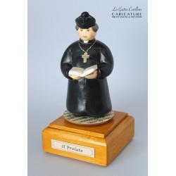 caricatura carillon da collezione prelato, regalo professionisti, persone di chiesa