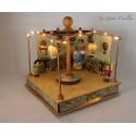 GRAN GIOSTRA MONGOLFIERE, carillon luminoso