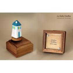carillon da collezione con CASA a aforisma regalo PER BAMBINI E ADULTI da collezione e personalizzabile