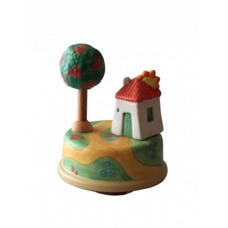 carillon da collezione casa casetta