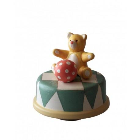 carillon bambini neonati bomboniere battesimo orsetto