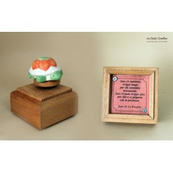 carillon da collezione con TARTARUGA a aforisma regalo PER BAMBINI E ADULTI da collezione e personalizzabile