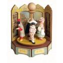 MASCHERE IN PIAZZA carillon legno grande