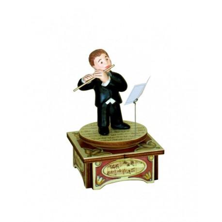 carillon musicista di flauto, carillon da collezione